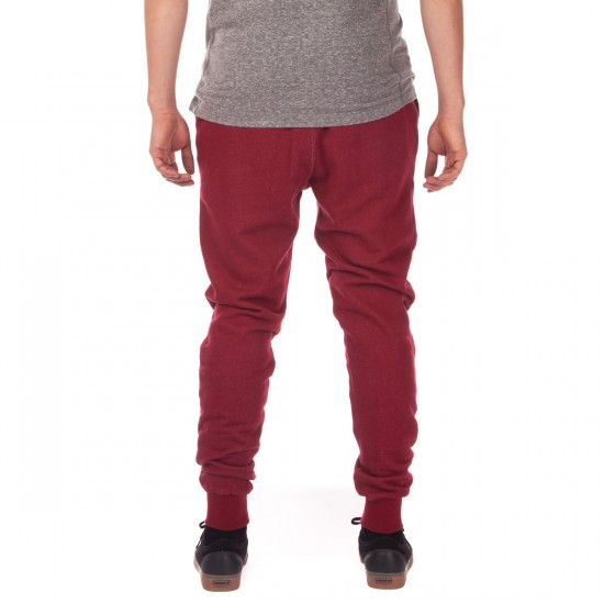 Diamond Supply Co. College Sweat Pants - Burgundy - LG