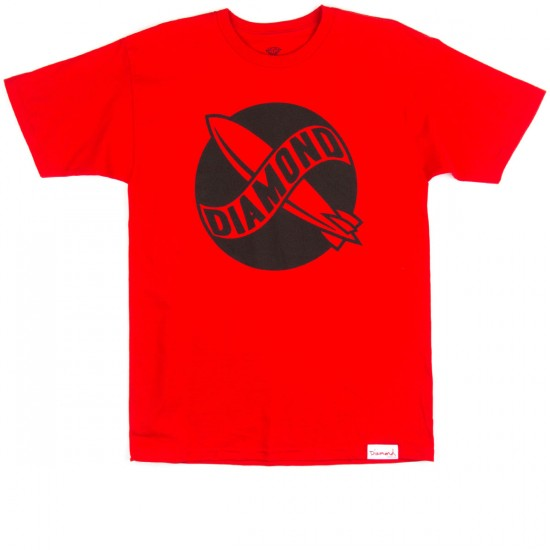 Diamond Supply Co. Diamond Blimp T-Shirt - Red