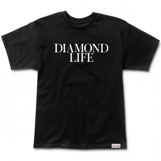 Diamond Supply Co. Diamond Life T-Shirt - Black