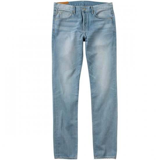 Diamond Supply Co. Diamond Mined Denim Slim Fit Jeans - Light Wash