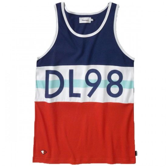 Diamond Supply Co. DLYC Tank Top - Navy/White
