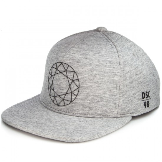 Diamond Supply Co. Dtc Clipback Hat - Heather Grey