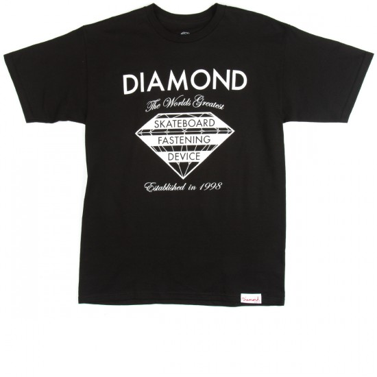 Diamond Supply Co. Fastening Device T-Shirt - Black