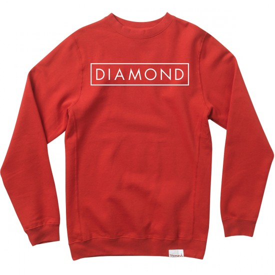 Diamond Supply Co. Future Crewneck Sweatshirt - Red