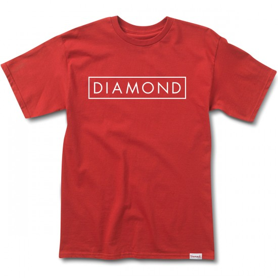 Diamond Supply Co. Future T-Shirt - Cardinal