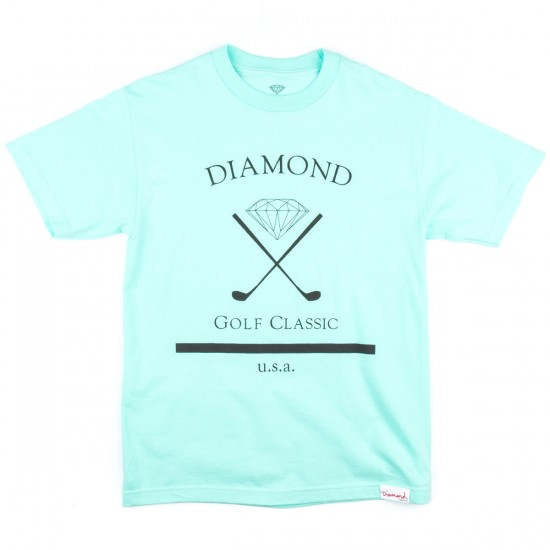Diamond Supply Co. Golf Classic T-Shirt - Diamond Blue