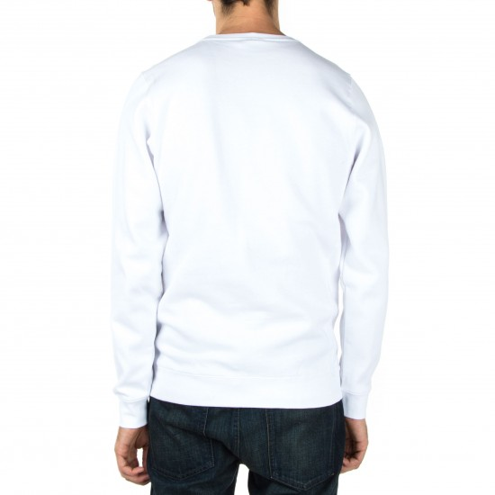 Diamond Supply Co. Hardware Heavyweights Crewneck Sweatshirt - White