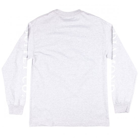 Diamond Supply Co. Hardware Stack Long Sleeve T-Shirt - Heather Grey