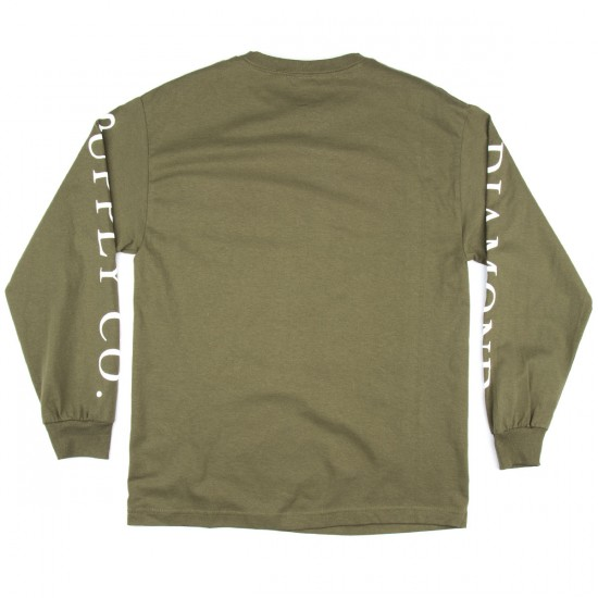 Diamond Supply Co. Hardware Stack Long Sleeve T-Shirt - Military Green