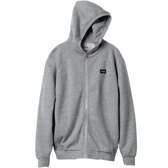 Diamond Supply Co. Hookie Zip Hoodie - Heather Grey