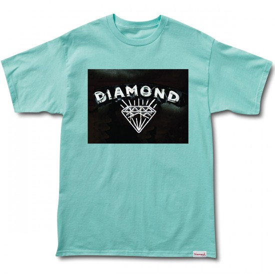 Diamond Supply Co. Jewelers Row T-Shirt - Diamond Blue