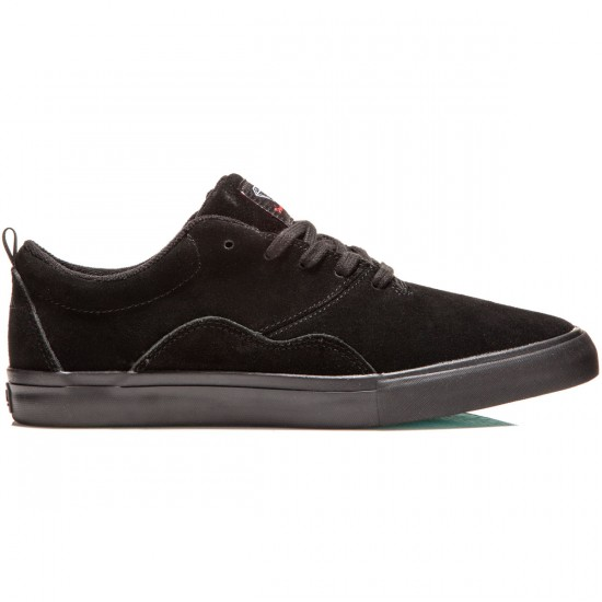Diamond Supply Co. Lafayette Shoes - Black Suede - 8.0