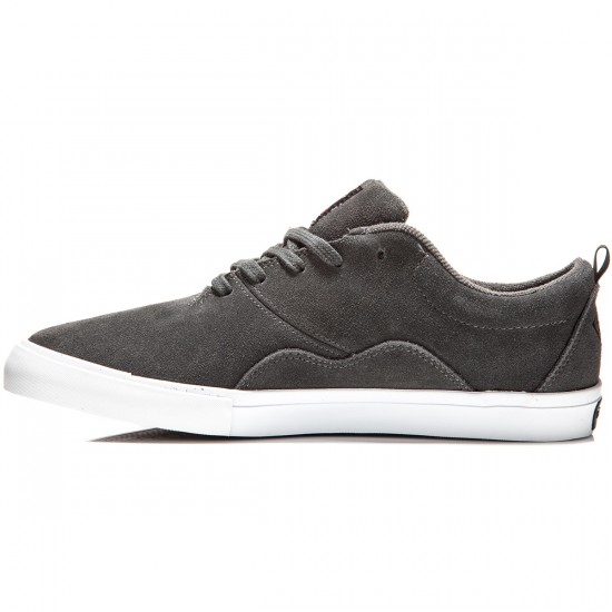Diamond Supply Co. Lafayette Shoes - Dark Grey/Suede - 9.5