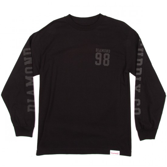Diamond Supply Co. Nine Eight Long Sleeve T-Shirt - Black