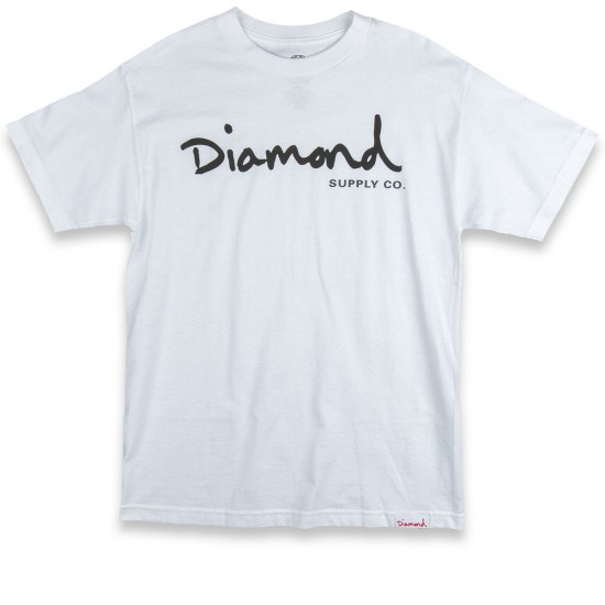 Diamond Supply Co. OG Script 2016 T-Shirt - White