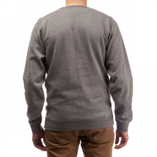 Diamond Supply Co. OG Script Crewneck Sweatshirt - Gunmetal Heather