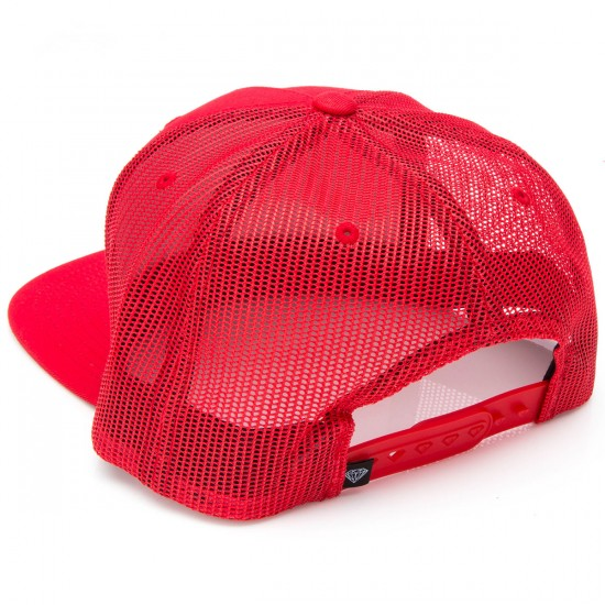 Diamond Supply Co. OG Script Snapback Hat - Red