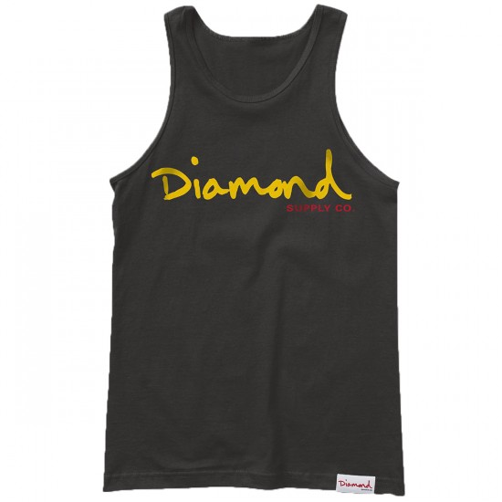 Diamond Supply Co. OG Script Tank Top - Black