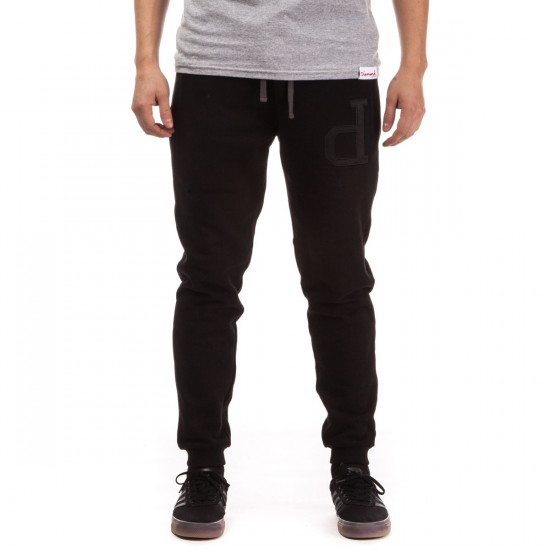 Diamond Supply Co. School Yard Sweatpants - Black - LG