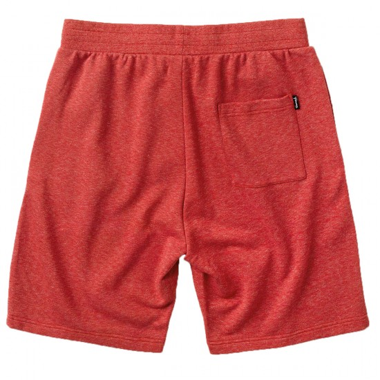 Diamond Supply Co. Speckle Jersey Shorts - Red