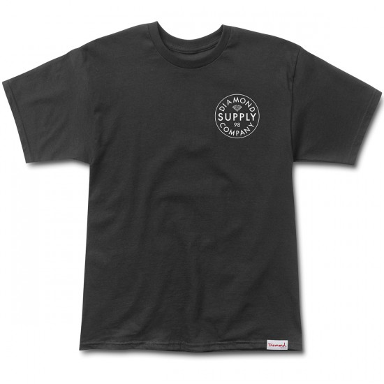 Diamond Supply Co. Stamped T-Shirt - Black