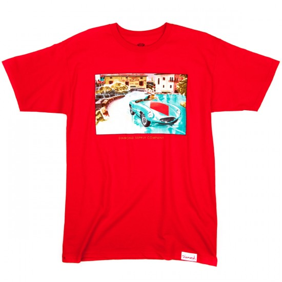 Diamond Supply Co. Street Race T-Shirt - Red
