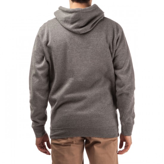 Diamond Supply Co. Tonal OG Script Hoodie - Gunmetal Heather
