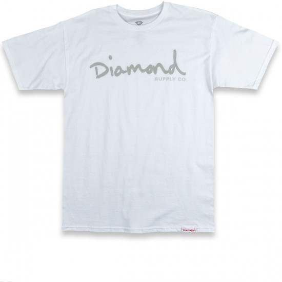 Diamond Supply Co. Tonal OG Script T-Shirt - White