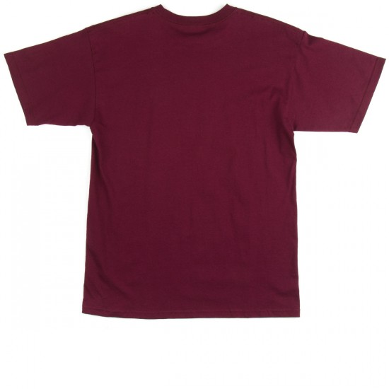 Diamond Supply Co. Tonal UN Polo T-Shirt - Burgundy