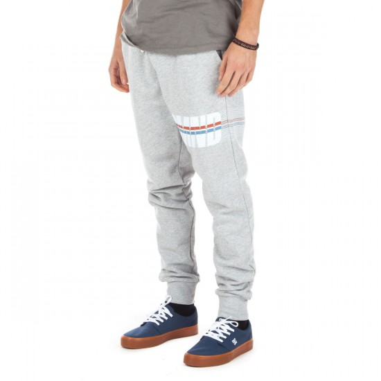 Diamond Supply Co. Triathalon Sweat Pants - Heather Grey - LG