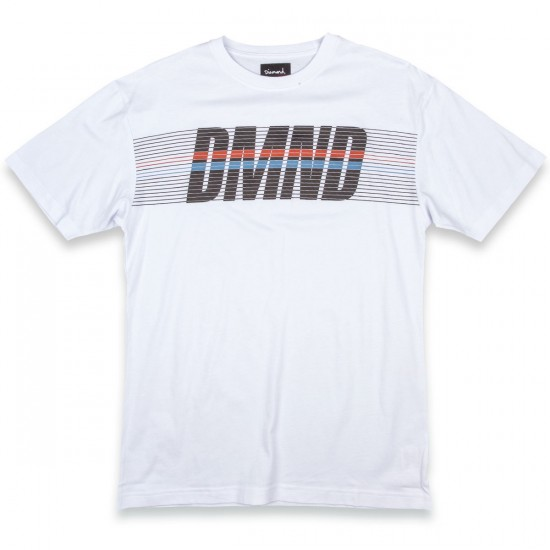 Diamond Supply Co. Triathalon T-Shirt - White