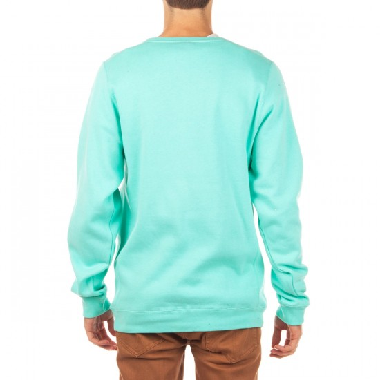 Diamond Supply Co. Tropical Crewneck Sweatshirt - Diamond Blue