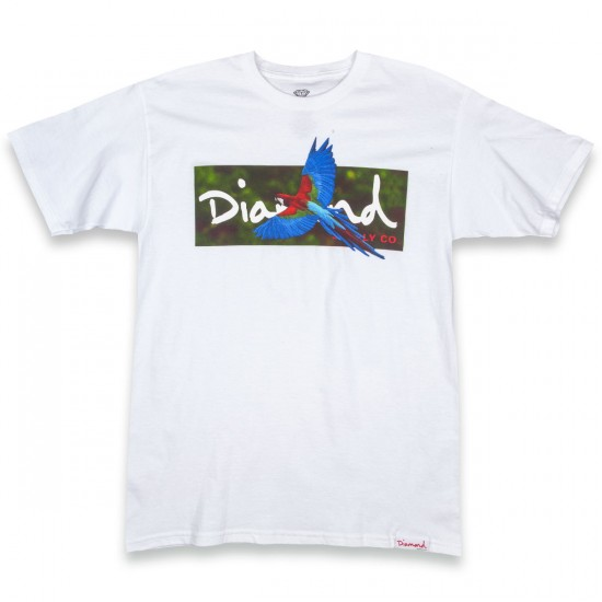 Diamond Supply Co. Tropical T-Shirt - White