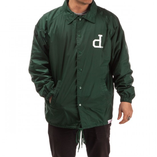 Diamond Supply Co. Un-Polo Coaches Jacket - Hunter Green