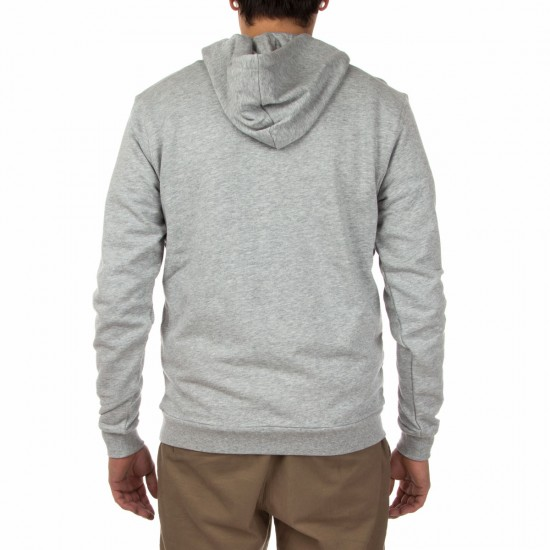 Diamond Supply Co. Un Polo Pullover Hoodie - Heather Grey