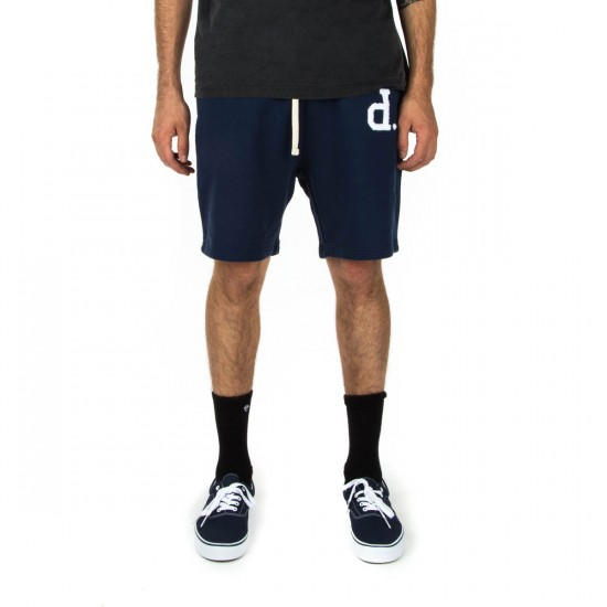 Diamond Supply Co. UN Polo Sweat Shorts - Navy