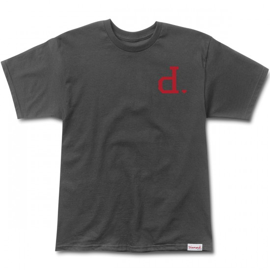 Diamond Supply Co. Un-Polo T-Shirt - Tar