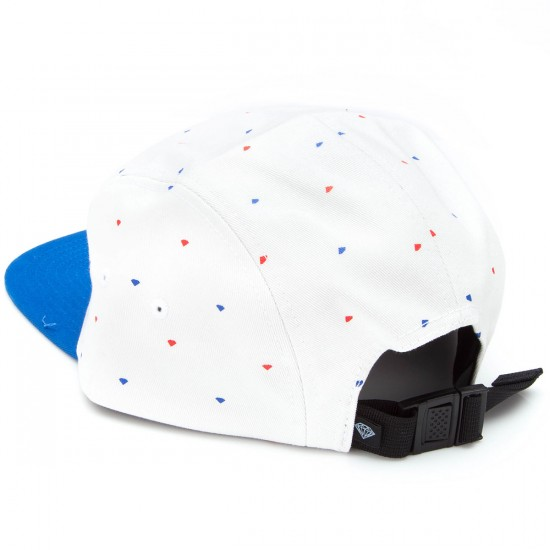 Diamond Supply Co. USA 5 Panel Hat - Blue