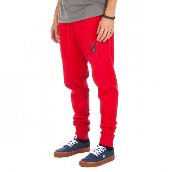 Diamond Supply Co. Widow Sweat Pants - Red - LG