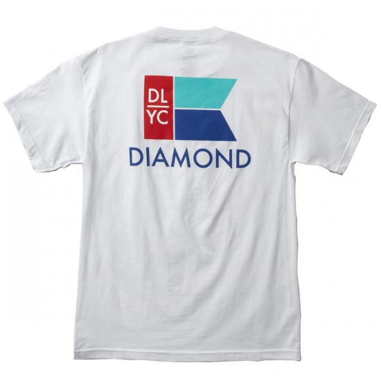 Diamond Supply Co. Yacht Flag T-Shirt - White