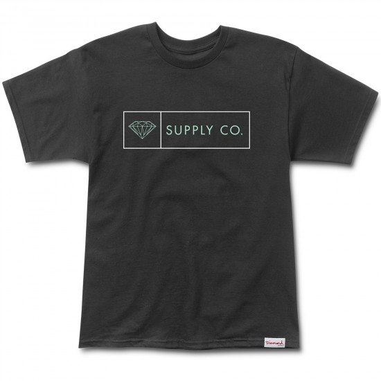 Diamond Supply Co. Boxed In T-Shirt - Black