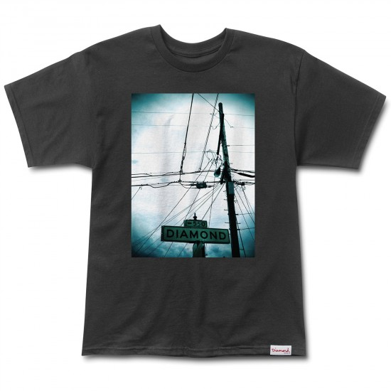 Diamond Supply Co. Diamond Street T-Shirt - Black