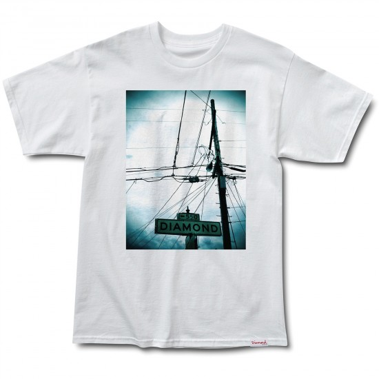 Diamond Supply Co. Diamond Street T-Shirt - White