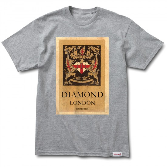 Diamond Supply Co. First Edition T-Shirt - Heather