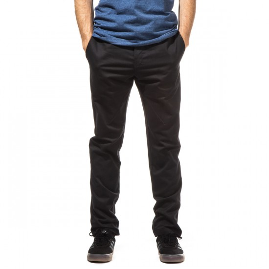 Dickies Twill Pants with Pivot-Tek - Black - 30 - 32
