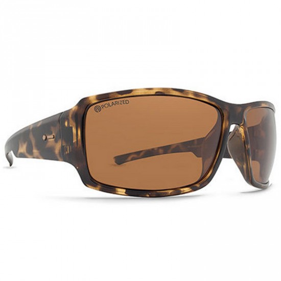 Dot Dash Exxellerator Sunglasses - Tort/Bronze Poly Polar
