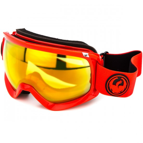 Dragon D3 Snowboard Goggles - Bitter/Yellow Red Ion