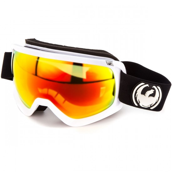 Dragon D3 Snowboard Goggles - Inverse/Red Ion with Yellow Blue Ion