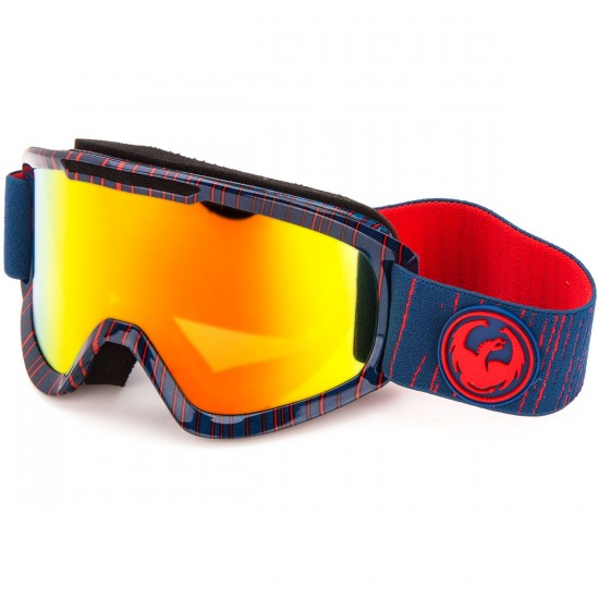 Dragon DX2 Snowboard Goggles - Geo/Red Ion
