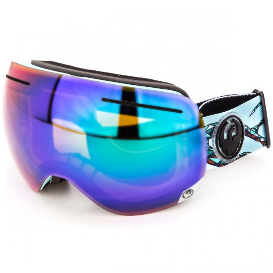 Dragon X1 Snowboard Goggles - Form/Green with Yellow Blue Ion
